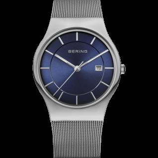 Bering Uhren in Zwickau: Herrenuhr Edelstahl Mesh- Armband 11938-003