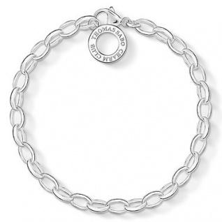 Thomas Sabo X0031-001-12-L Charmarmband Silber