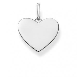 Thomas Sabo in Zwickau: Anhänger Love Coin Silber Herz LBPE0002-001-12