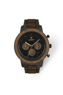Kerbholz Uhren in Zwickau: Geschenkbox Maximilian Black Sandalwood 4251240413105