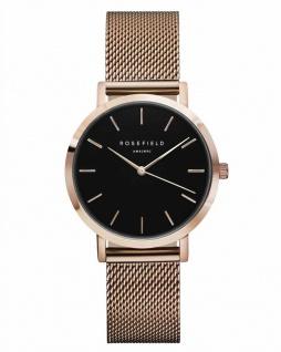 Rosefield Uhren in Zwickau: The Tribeca Black Rosègold TBR-T59