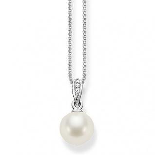 Thomas Sabo in Zwickau SCKE150060 Kette Silber, Silberkette mit Perle