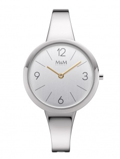 M&M Uhren in Zwickau: Damenuhr Spange M11944-063, Circle Line bangle