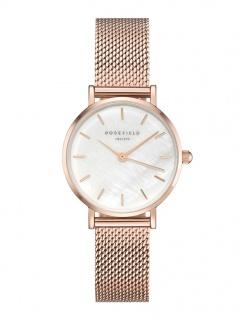 Rosefield Uhren in Zwickau: Damenuhr Small Edit White Rosègold 26WR-265