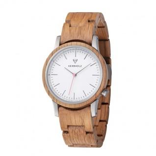 Kerbholz Uhren in Zwickau: Armbanduhr Wilma Oak 4251240410012