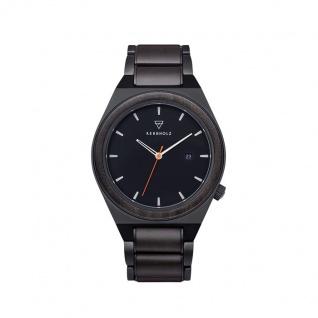 Kerbholz Uhren in Zwickau: Herrenuhr Paul Sandalwood Orange 4251240414201
