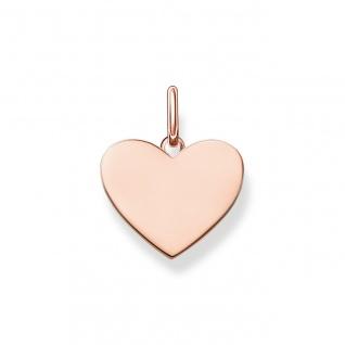 """Thomas Sabo Anhänger Love Coin rosè """" Herz"""" LBPE0002-415-12"""