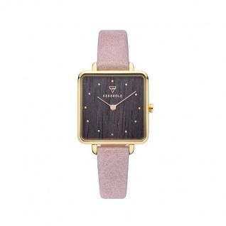 Kerbholz Uhren in Zwickau: Damenuhr Elise Gold Darkwood Rosè 4251240412481