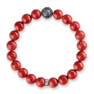 Thomas Sabo: Armband Ethno rot A1681-062-10-L17