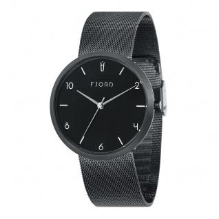 Fjord Uhren in Zwickau: Armbanduhr Milanaisearmband IP schwarz 927000318
