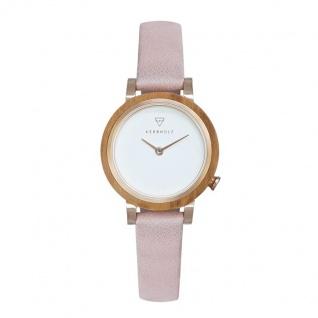 Kerbholz Uhren in Zwickau: Damenuhr Luise Olivewood Rosè 4251240411606