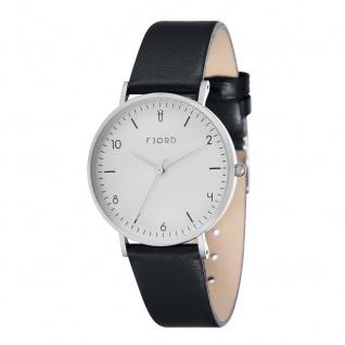 Fjord Uhren in Zwickau: Damenuhr Lederband schwarz 927001110