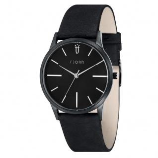Fjord Uhren in Zwickau: Herrenuhr Lederband schwarz 927001318