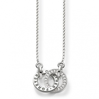 "Thomas Sabo in Zwickau: Kette Silber Zirkonia "" forever together"" SCKE150159"