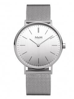 M&M Uhren in Zwickau: Armbanduhr Mesharmband M11892-142, Basic Line 36