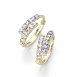 Eigenmarke Juwelier Streit Zwickau: Klappcreole Gold 375/- 94017140