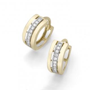 Eigenmarke Juwelier Streit Zwickau: Klappcreole Gold 375/- 94014540