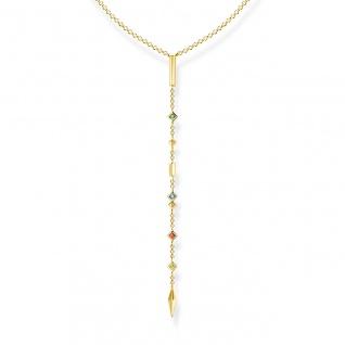Thomas Sabo Ypsilonkette Kette Silber vergoldet KE1841-971-7-L45v