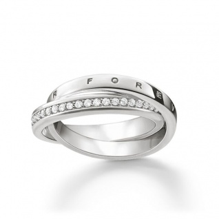 "Thomas Sabo in Zwickau: Ring "" Forever Together"" TR2099-051-14-54"