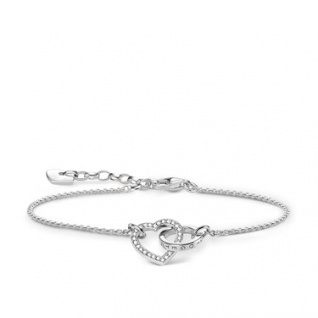 Thomas Sabo Armband Silber Herz A1648-051-14-L19v