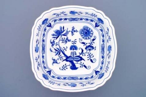 WOHNAMBIENTE Porzellan, Geschirr Art.-Nr.: CB 065, Schüssel, Salat VII, 4-eckig Maße: Kantenlänge 26 cm, h= 9 cm. - Vorschau 1