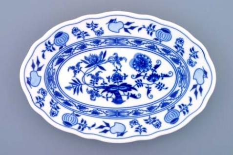 WOHNAMBIENTE Porzellan, Geschirr Art.-Nr.: CB 067, Platte II, oval Maße: Länge 24 cm, h= 3, 5 cm,