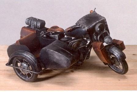 WOHNAMBIENTE Modellbau, Motorrad