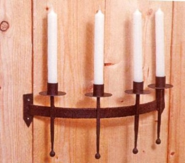 WOHNAMBIENTE Kerzenständer, Kerzenhalter Art.-Nr.: 17711 Maße: b= 38 cm, h= 19 cm, t= 16 cm (Ausladung).