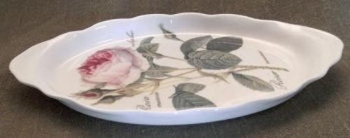 WOHNAMBIENTE Porzellan, Geschirr Art.-Nr.: 914 Maße: 25, 5 x 14, 5 cm, h= 2 cm.
