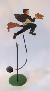 WOHNAMBIENTE Balancefigur Art.-Nr.: 67020 B= ca. 28 cm, H= ca. 50 (im Ruhestand).