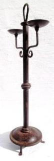 WOHNAMBIENTE Kerzenständer, Kerzenhalter Art.-Nr.: K 2010 Maße: Breite max. 26 cm, Gesamthöhe 61 cm. - Vorschau 3