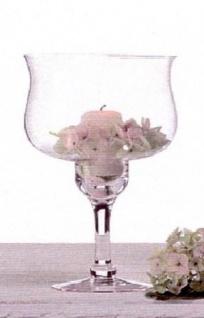 WOHNAMBIENTE Kerzenständer, Kerzenhalter Art.-Nr.: 44692 Maße: ca. d= 20 cm, h= 30 cm.