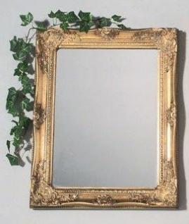 WOHNAMBIENTE Spiegel Art.-Nr.: 44743 Maße: 50 x 60 cm (BxH), Rahmenstärke 5, 5 x 4, 5 cm.