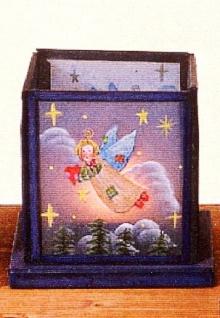 WOHNAMBIENTE Teelicht Art.-Nr.: 16301 Maße: 12 x 12 cm, Höhe 11 cm.
