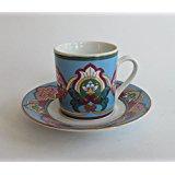 WOHNAMBIENTE Espressoset Art.-Nr.: 1990 original Bohemia aus dem Werk Dubi