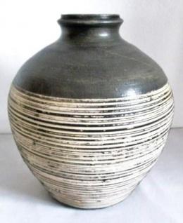 WOHNAMBIENTE Keramik-Vase Art.-Nr.: K 50 Maße: d= 27 cm, Höhe 32 cm. Öffnung d= 7 cm.