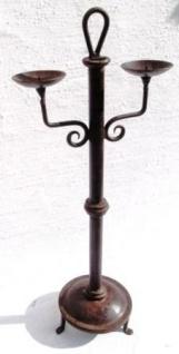 WOHNAMBIENTE Kerzenständer, Kerzenhalter Art.-Nr.: K 2010 Maße: Breite max. 26 cm, Gesamthöhe 61 cm. - Vorschau 2