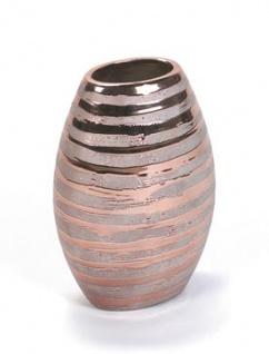 WOHNAMBIENTE Vase Art.-Nr.: 24140 Maße: 16 x 10 cm oval, Höhe 25 cm.