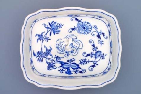 WOHNAMBIENTE Porzellan, Geschirr Art.-Nr.: CB 084, Ragout-Topf mit Deckel, klein Maße: Volumen 0, 4 ltr. , 25 x 20 cm, h= 15 cm, Form oval - Vorschau 2