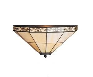 Wandlampe Art.-Nr.: LP 1044 Schirmbreite 34 cm, Höhe 17 cm, Ausladung ab Wand 17 cm, Fassung 1 x E27. - Vorschau