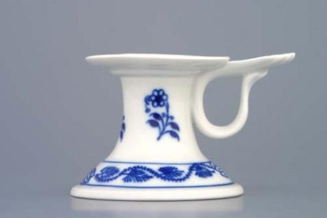 WOHNAMBIENTE Porzellan, Geschirr Art.-Nr.: CB 181, Kerzenleuchter mit Griff Maße: b= 7, 5 cm, h= 6, 5 cm,