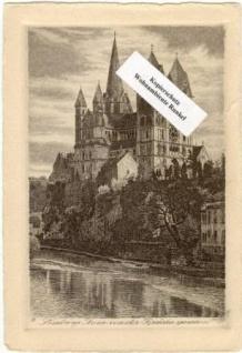 WOHNAMBIENTE Art.-Nr.: PK 45 Ansichtskarte, Echte Kupferradierung mit Handpressendruck. Kramers Kunstanstalt, Dortmund. Zustand gut.
