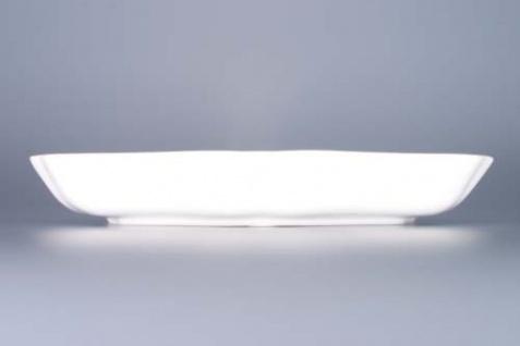 WOHNAMBIENTE Porzellan, Geschirr Art.-Nr.: CB 056, Schüssel, 3-eckig, groß Maße: Kantenlänge 24 cm, h= 4 cm, - Vorschau 2