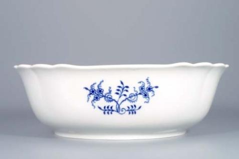 WOHNAMBIENTE Porzellan, Geschirr Art.-Nr.: CB 065, Schüssel, Salat VII, 4-eckig Maße: Kantenlänge 26 cm, h= 9 cm. - Vorschau 2