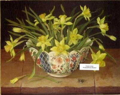 WOHNAMBIENTE Oleographie Art.-Nr.: 2745 Maße: 25, 5 x 20, 5 cm (BxH).