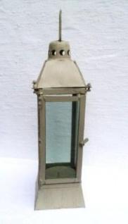 WOHNAMBIENTE Laterne Art.-Nr.: 63001 Maße: max. 16 x 16 cm, Höhe 50 cm, mit Griff 59 cm.