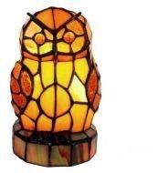 WOHNAMBIENTE Tiffany-Lampe, LT 16, Die Eule, Vogel der Weisheit