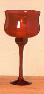 WOHNAMBIENTE Kelchglas Art.-Nr.: 13344 Maße: h= 40 cm