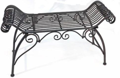 WOHNAMBIENTE Gartenbank Art.-Nr.: 18200 Maße max.: 91 x 54 x 30 cm (BxHxT), Sitzmaße: 56 x 45 x 30 cm (BxHxT)