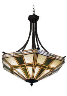 WOHNAMBIENTE Tiffany-Lampe, Hängelampe Art.-Nr.: TT 96